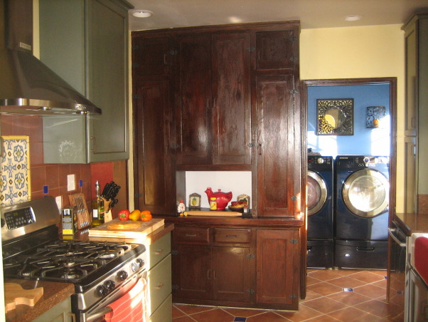 Vintage 1932 Kitchen Re-Do, My wife and I updated our 1932 Spanish Revival Kitchen to bring it into the modern era. We wanted a vintage Spanish Kitchen that restored the remaining original cabinets and fixtures while adding some new cabinets and modern touches. , Kitchens Design