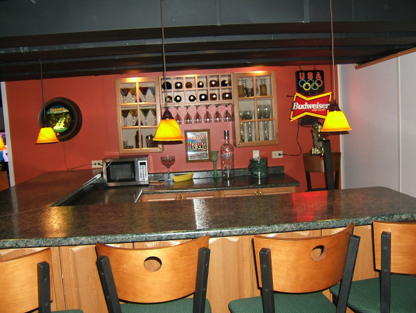 Man Cave Bar Height : Information about rate my space questions for hgtv