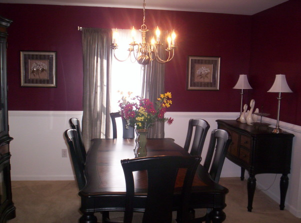 301 moved permanently for Burgundy dining room ideas