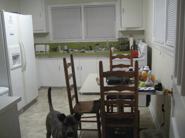 """Circa 1947 Kitchen, Small kitchen with lots of windows. Not much wall space for cabinets. Need ideas on upgrading but keeping the """"feel"""" of the home. Love all the windows - let in plenty of light., Kitchens Design"""