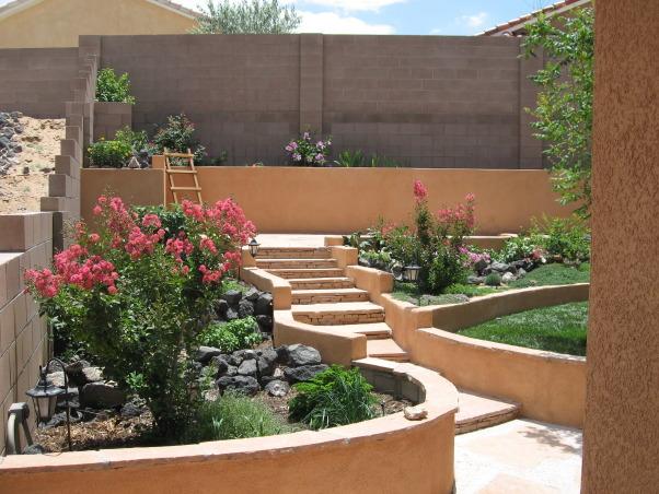 Southwest, Small high desert back yard oasis, , Yards Design