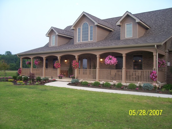 NEW HOUSE/FIRST SUMMER , LANDSCAPING OF MY YARD FIRST SUMMER.  , , Landscaping
