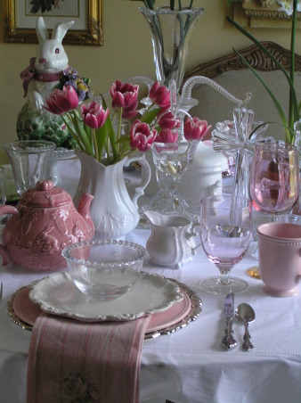 Tea Lunch, A little tea lunch I held for some co-workers., Dining Rooms Design