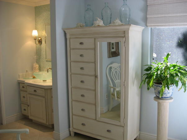 Ocean Inspired Master Bedroom, All my furniture pieces were chosen for not only their looks but lots of storage , Bedrooms Design