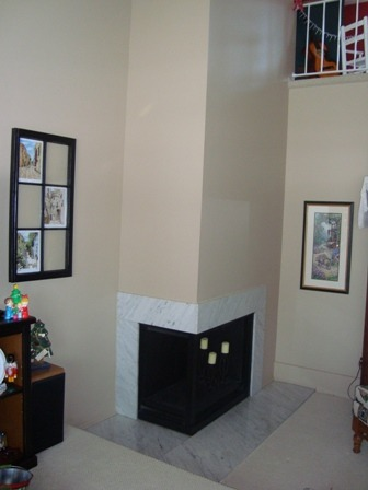 Redo My Fireplace, I need help! I love my home but the fireplace has got to be updated.  It is boring unattractive and just plain 70's.  I would like to change it over to a gas fireplace since our city told us not to use our fireplaces because there has been too many house fires reported.  Not a good thing.  Does any one have any suggestions?  Would love to hear from you.  Thank you. , , Living Rooms Design