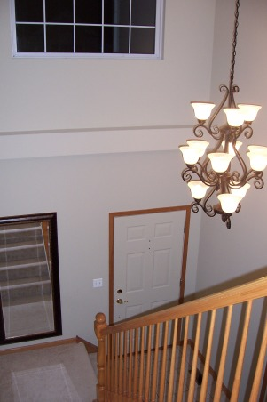 story Foyer - need decorating ideas! , This is our two story foyer ...