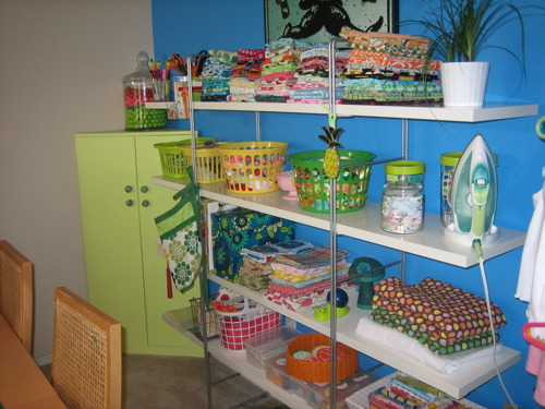 my sewing room (located in my dining room), , Dining Rooms Design