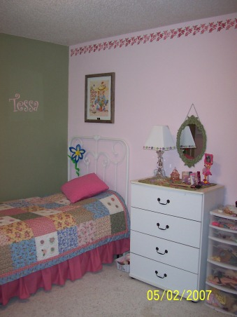 Bedroom for Two Sisters, This room for my two girls (ages 6 and 8) is kind of crowded. I would love anybody's ideas for improving this room., , Girls' Rooms Design