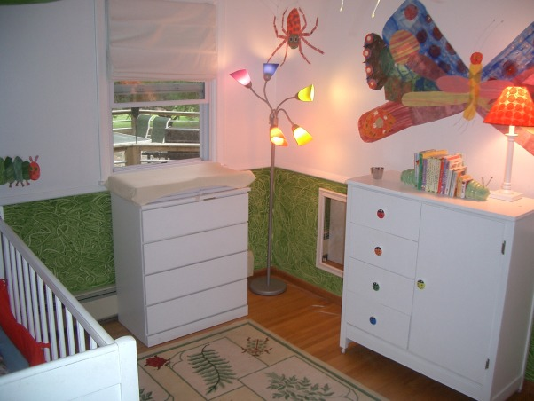 Hungry Caterpillar Nursery, Bedrooms Design