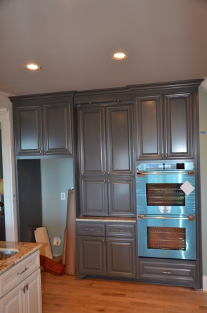 Kitchen cabinets, trim, bathroom cabinet, laundry, den cabinets, Kitchen remodeling - own design, custom door rail design, total remodel of kitchen, bath, laundry, offices, pantry, islands are made like i piece of furniture. Little bit difficult to make, but worthy at the end HOPE U LIKE IT and thank U for your time with view and rate :-)   If anyone need something custom built, let me know :-), Kitchens