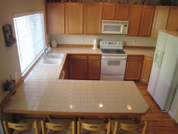 Compact Kitchen, Utilizing existing confined space to pack in a lot of features and function., Edxisting builder-grade kitchen.  , Kitchens