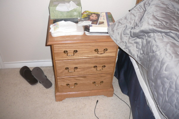 Furniture I built, Babby beds, dressers, chests, changing table, night stands,  head boards and more.....Customer made Furniture, Small bedside table-oak, Bedrooms