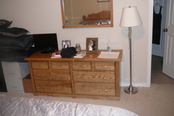 Furniture I built, Babby beds, dressers, chests, changing table, night stands,  head boards and more.....Customer made Furniture, Double dresser-oak, Bedrooms