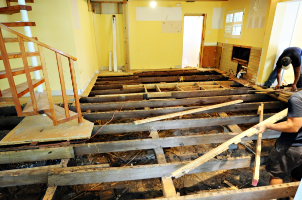 From dysfunctional to functional and beautiful, Our coastal 1925 cottage had been added onto several times.  Unfortunately the kitchen  was pieced together with shotty workmanship and bits and pieces of left over materials.  The entire floor structure, electrical,  plumbing and windows had to be replaced which added quite a bit to our estimated costs.  4 months later we have a warm, cozy, rustic space with just enough modern appeal.  Truly a place now to gather with family and friends.  On to the next project......, The floors were completely uneven so out they came.  We discovered that whoever added this space onto the house decided support beams really were not that necessary.....A rebuild was in order.   , Kitchens