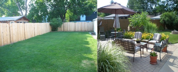Midwest New Addition & Back Yard, We took our old 1940's Cape Cod and gave it a southwestern facelift by adding adobe stucco, a new patio, and new landscaping.  What a differnce!, Before and After!     , Outdoor Spaces