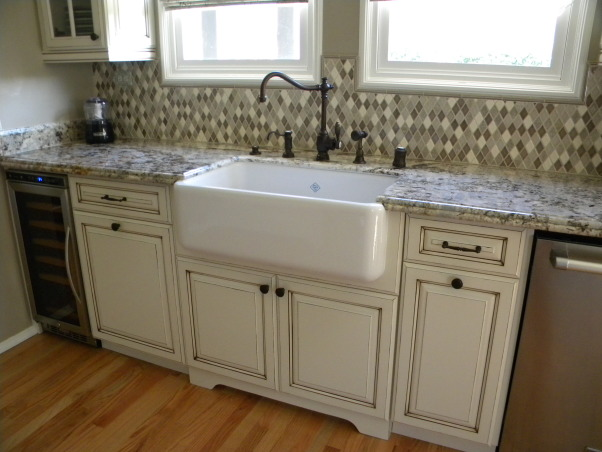 Our French Country Inspired Kitchen Remodel, Boring and neat to Tres Magnifique! Our French Country Style home's kitchen needed to be brought in to the 21st century but we really wanted to keep it in the style and character of the rest of the home., Our farmhouse sink is very roomy     , Kitchens
