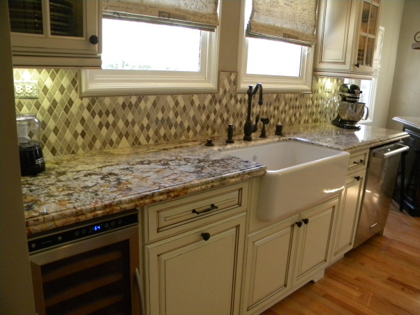Our French Country Inspired Kitchen Remodel, Boring and neat to Tres Magnifique! Our French Country Style home's kitchen needed to be brought in to the 21st century but we really wanted to keep it in the style and character of the rest of the home., Ample counter prep space.    , Kitchens