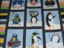 "Multi-Cultural Penguins!, Made for my son and his wife expecting my first grandchild ""Danny"".  My son is an avid Pittsburgh Penguins fan so it only seemed right to do the nursery in Penguins!  , Animals Project"