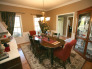 Delightful Dining!, Just finished adding hardwoods and new rug, Dining Rooms Design