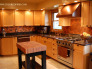 Copper Backsplash, Exotic bamboo copper backsplash made from patina copper., Kitchens Design