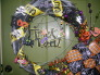 No Tricks! Just Treats!, Homemade Door Wreath and Yard Decor sure to Treat all who see!!!!, Holidays Design
