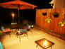 Our backyard at night - redo 2013, Patios & Decks Design