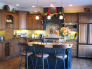 Tuscan Kitchen Design & Tile Backsplash Mural, The Tuscan Kitchen tile mural backsplash helps bring Tuscany into this warm and inviting kitchen. Check out the close up of the mural in the other picture., Kitchens Design