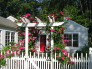 Country Cottage Rehab, Country Garden Entrance, Home Exterior Design