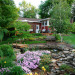 My backyard pond & waterfall, This is a pond I built by hand just to sit and enjoy the sounds of the outdoors. , Gardens Design