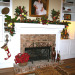Holiday Home Tour, mantel , Holidays Design