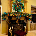 Show Me Christmas Decorating, Show Me Decorating Christmas trees, mantels, wreaths, garlands, doorways and more, Mantel ready for the stockings to be filled, Holidays Design