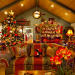 Country French Christmas, Country French Christmas by Show me Decorating, cool turquoise, rich red and gold compliment the season in this beautiful home., Country French home dressed for the Holidays, Holidays Design