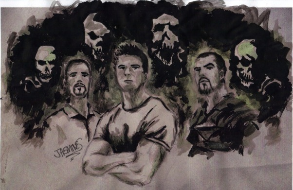 Ghost Adventures, I drew/painted some pics of Zak and His crew., I painted The Ghost Adventures Crew! :D, Fan Art