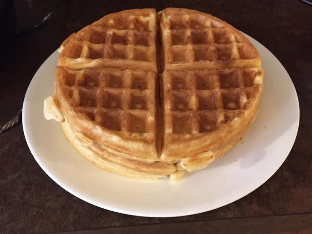 Grandmas Buttermilk Waffles Recipe Genius Kitchen