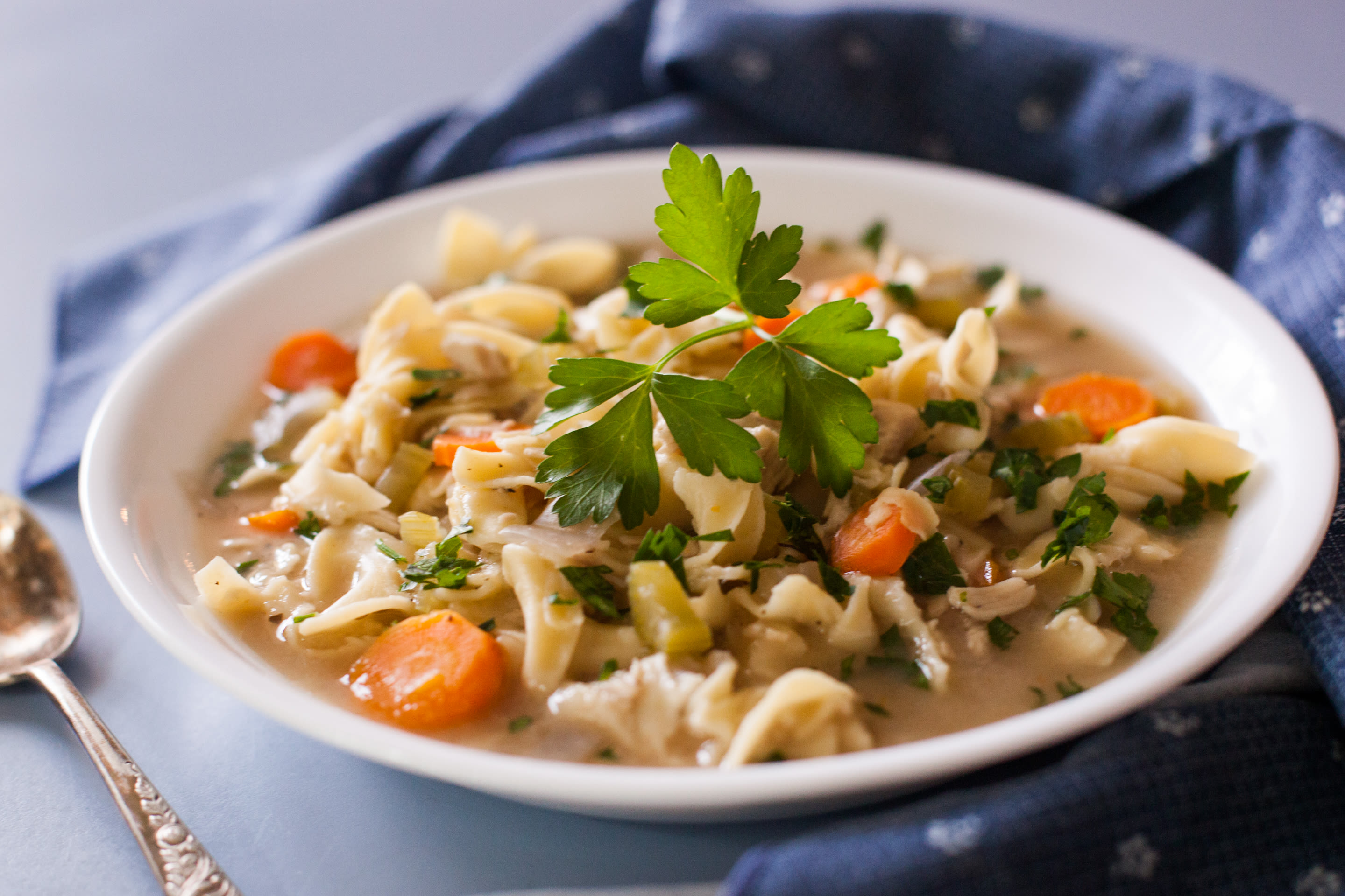 Slow cooker chicken noodle soup recipe genius kitchen forumfinder Images