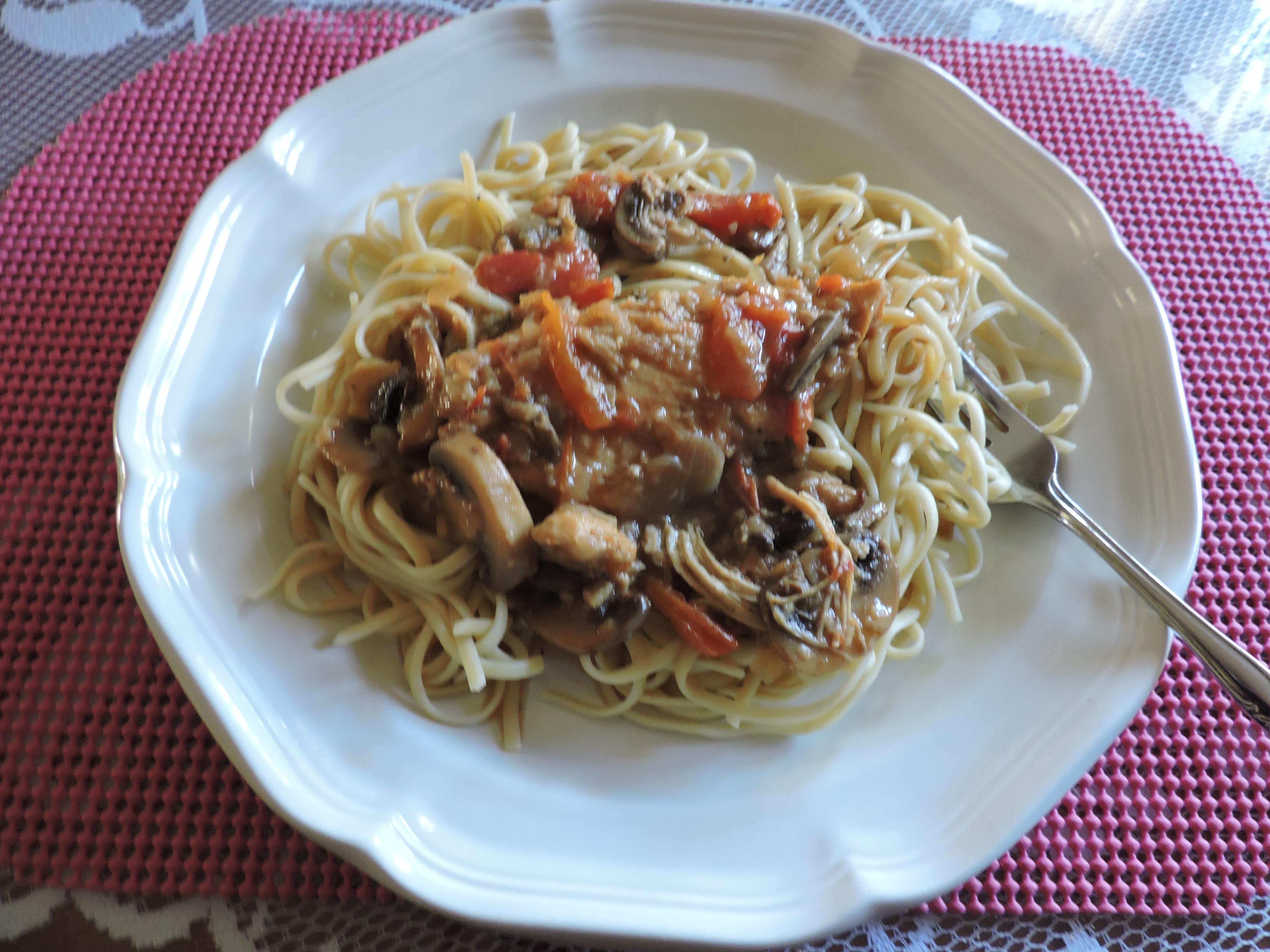 Chicken Vino Bianco - Tastes Just Like Olive Garden Recipe - Genius ...