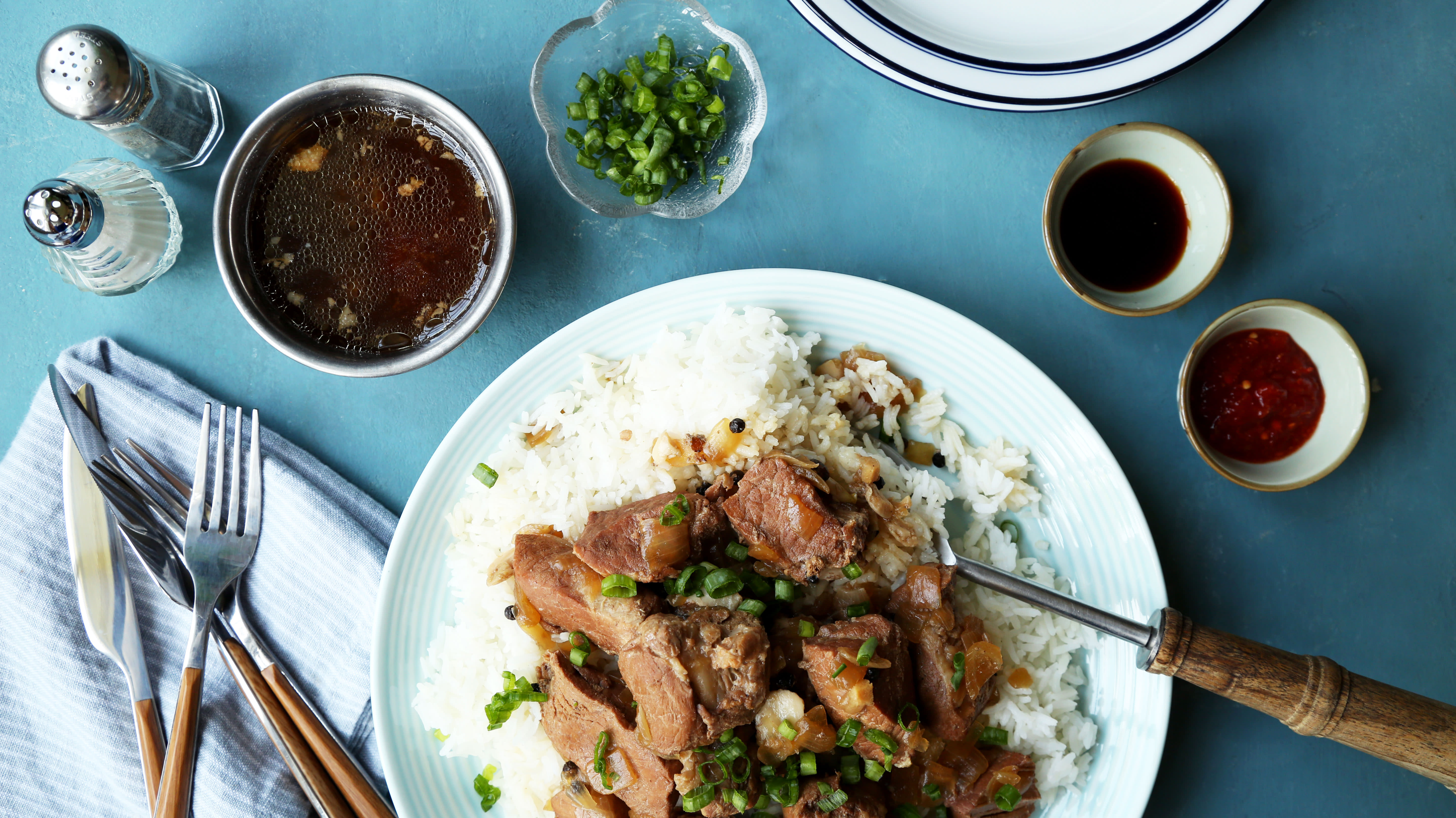 Filipino Adobo Pork Or Chicken) With Slow Cooker Variation Recipe ...