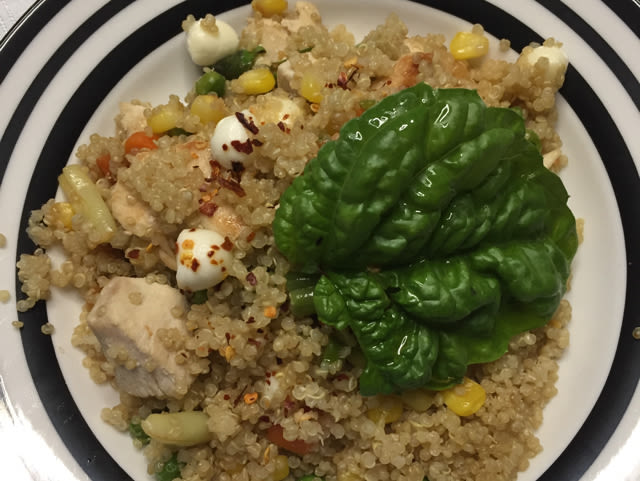 Garlic Chicken With Quinoa Recipe Genius Kitchen