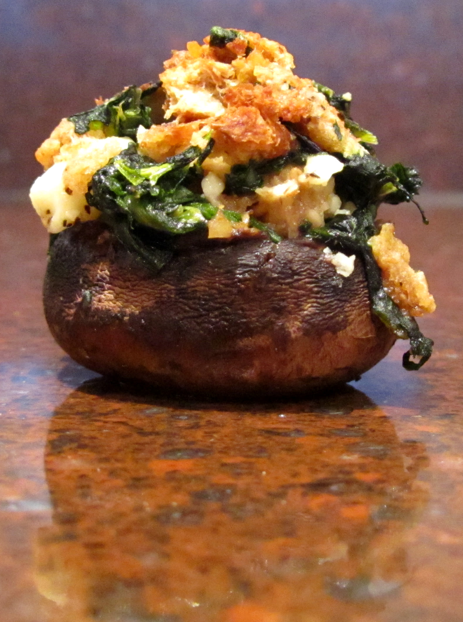 Spinach Stuffed Mushrooms Recipe - Genius Kitchen