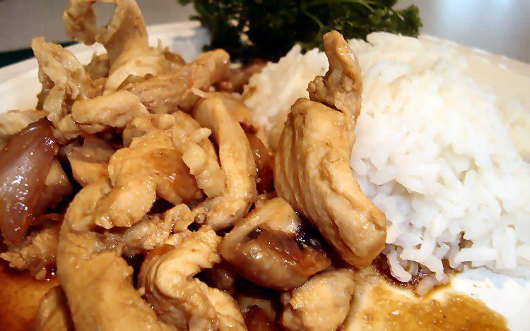Asian Chicken With Mushrooms Recipe Genius Kitchen