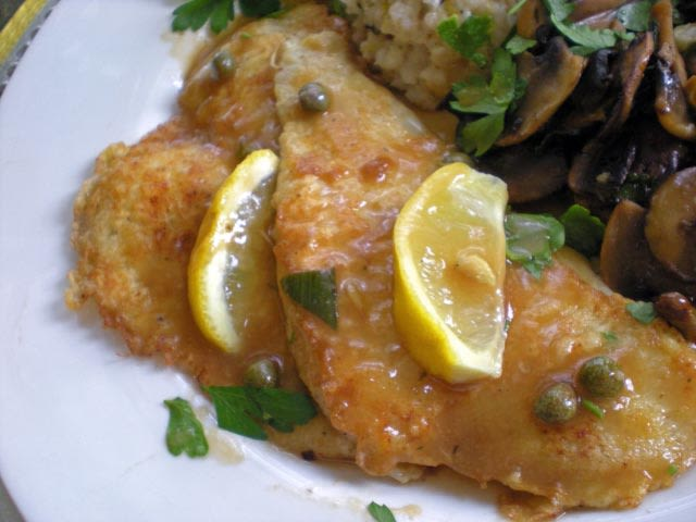 Flounder Francaise Or Chicken Francaise Recipe Genius Kitchen