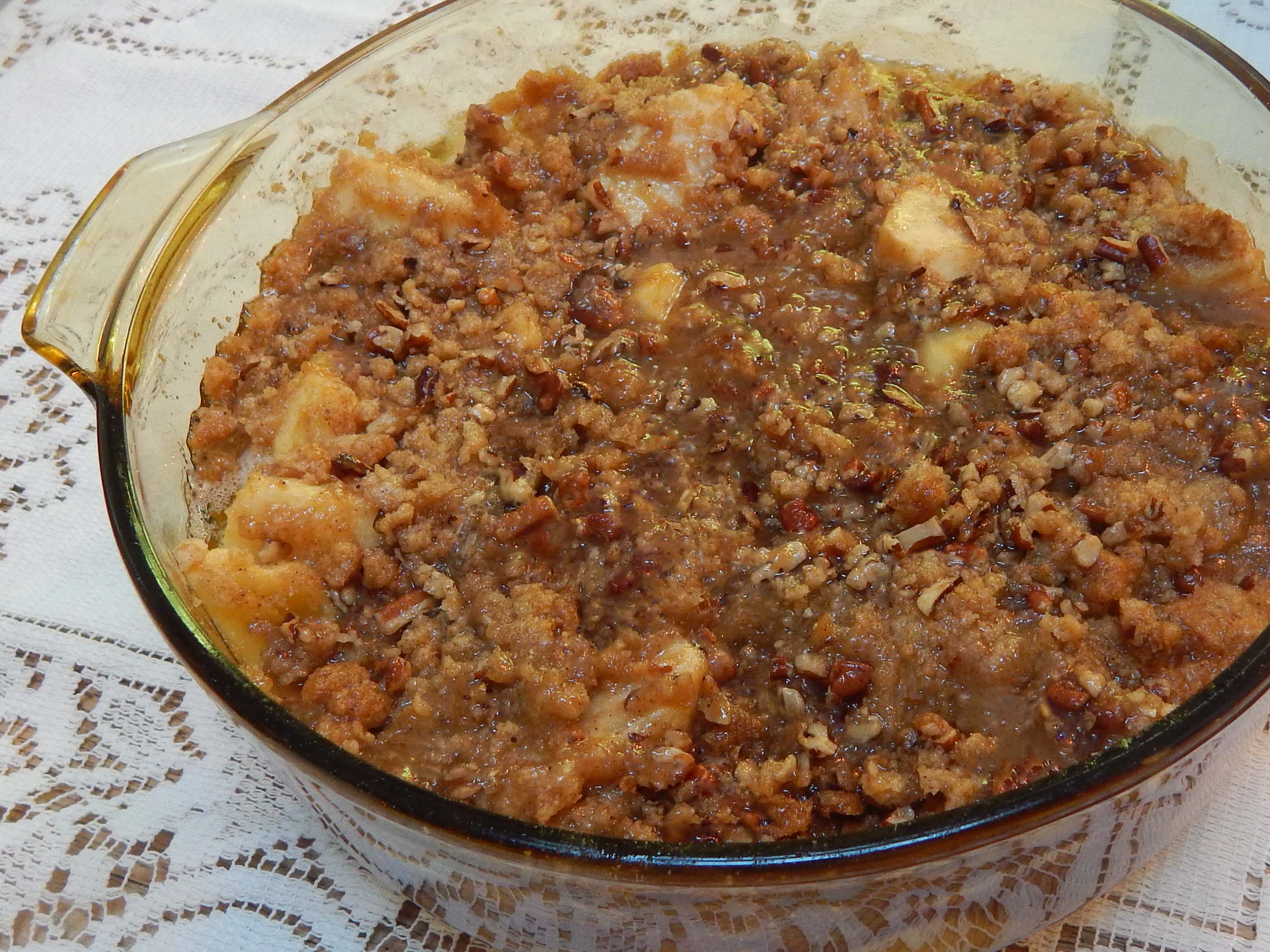 Sheilas Best Apple Crisp No Oats Recipe Genius Kitchen