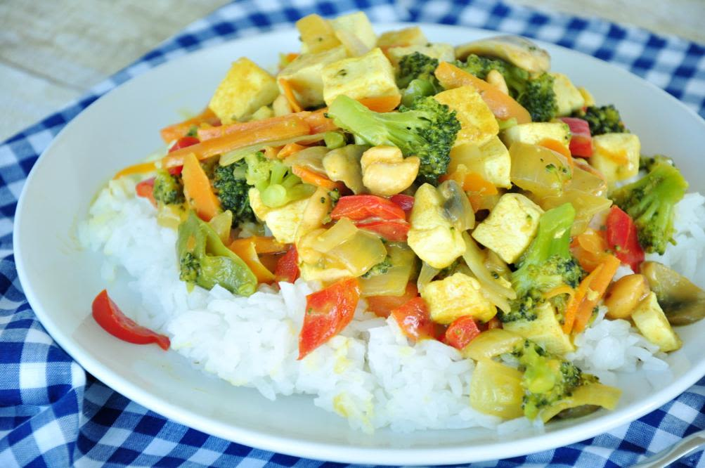 Pf Changs Coconut Curry Vegetables Recipe Genius Kitchen