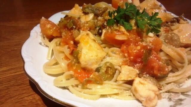 Quick Chicken Puttanesca Recipe Genius Kitchen