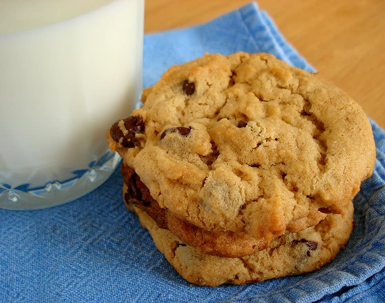 Peanut Butter Chocolate Chip Cookies Recipe Genius Kitchen