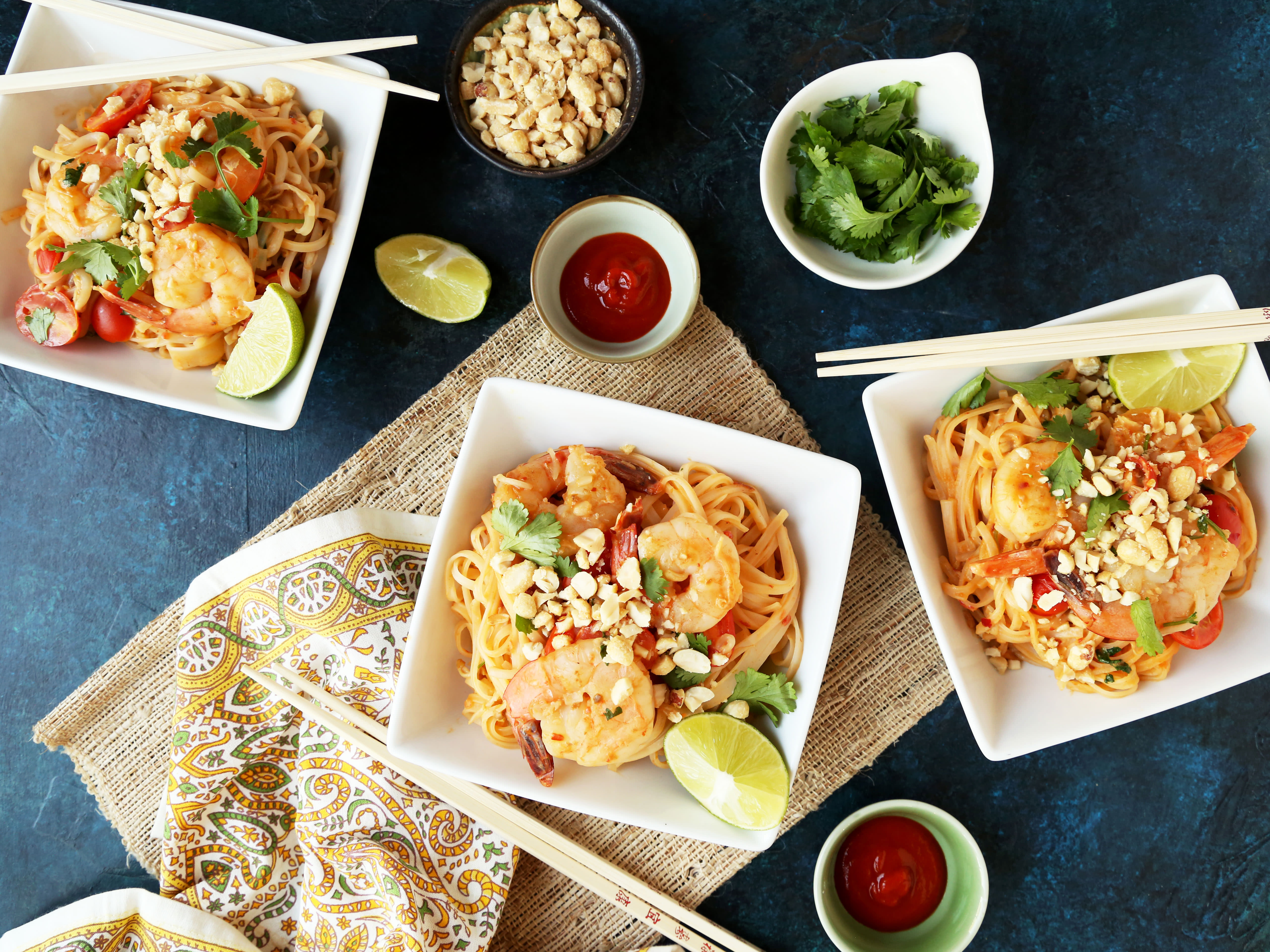 10 minute shrimp pad thai recipe genius kitchen forumfinder Choice Image
