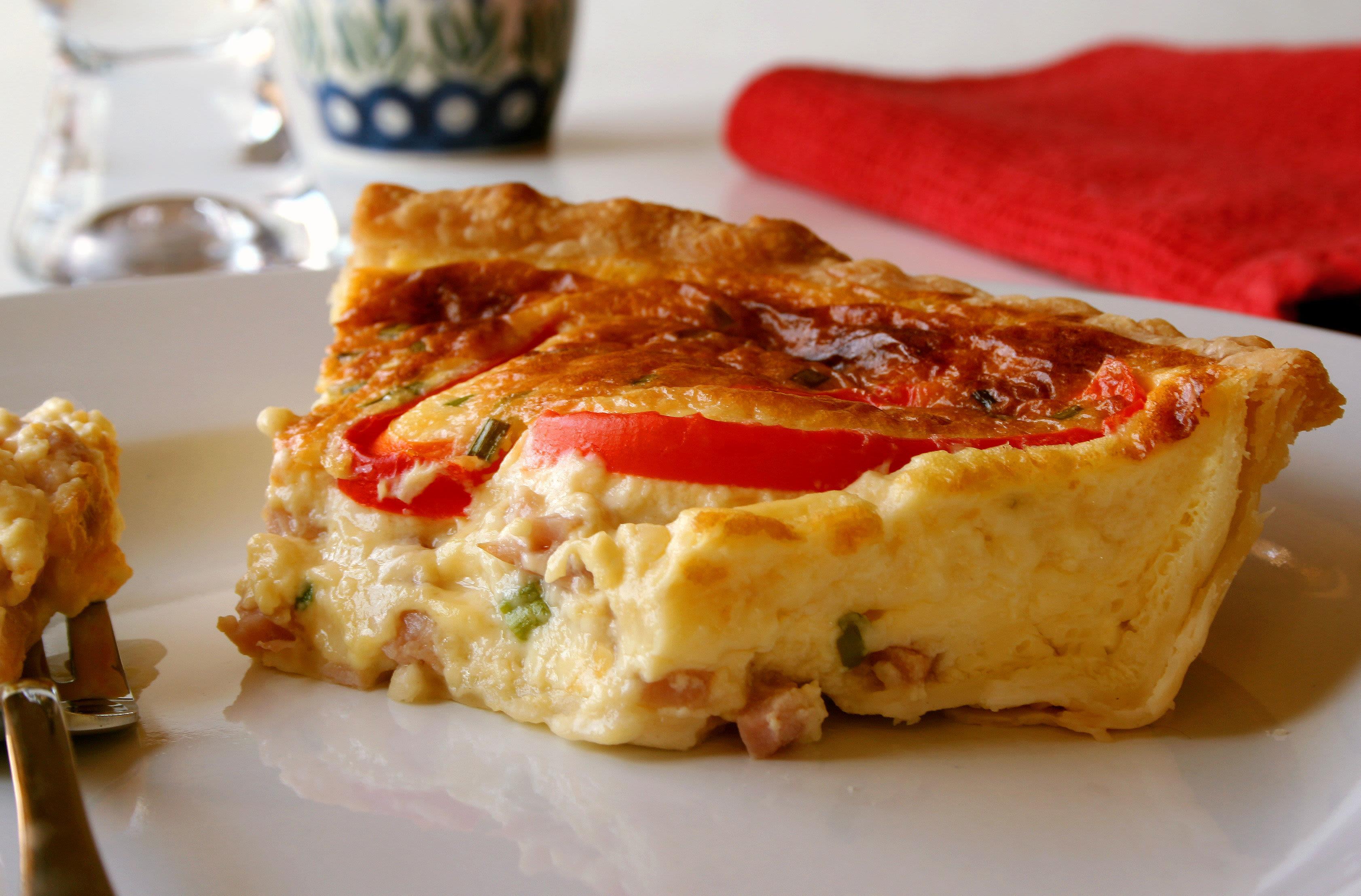 ham and cheese quiche recipe paula deen