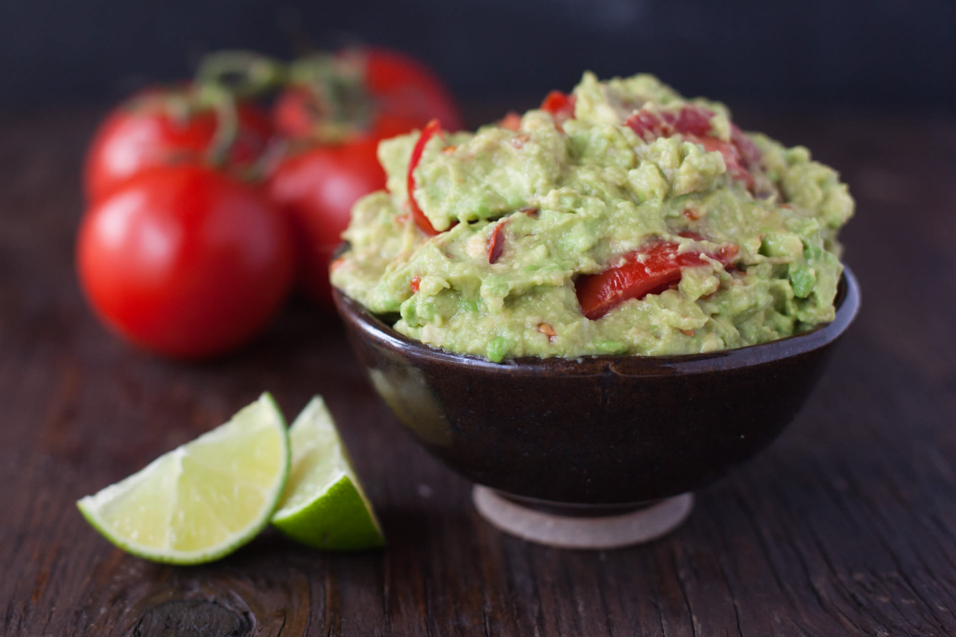 Easy and authentic mexican guacamole avocado dip recipe genius kitchen forumfinder Images