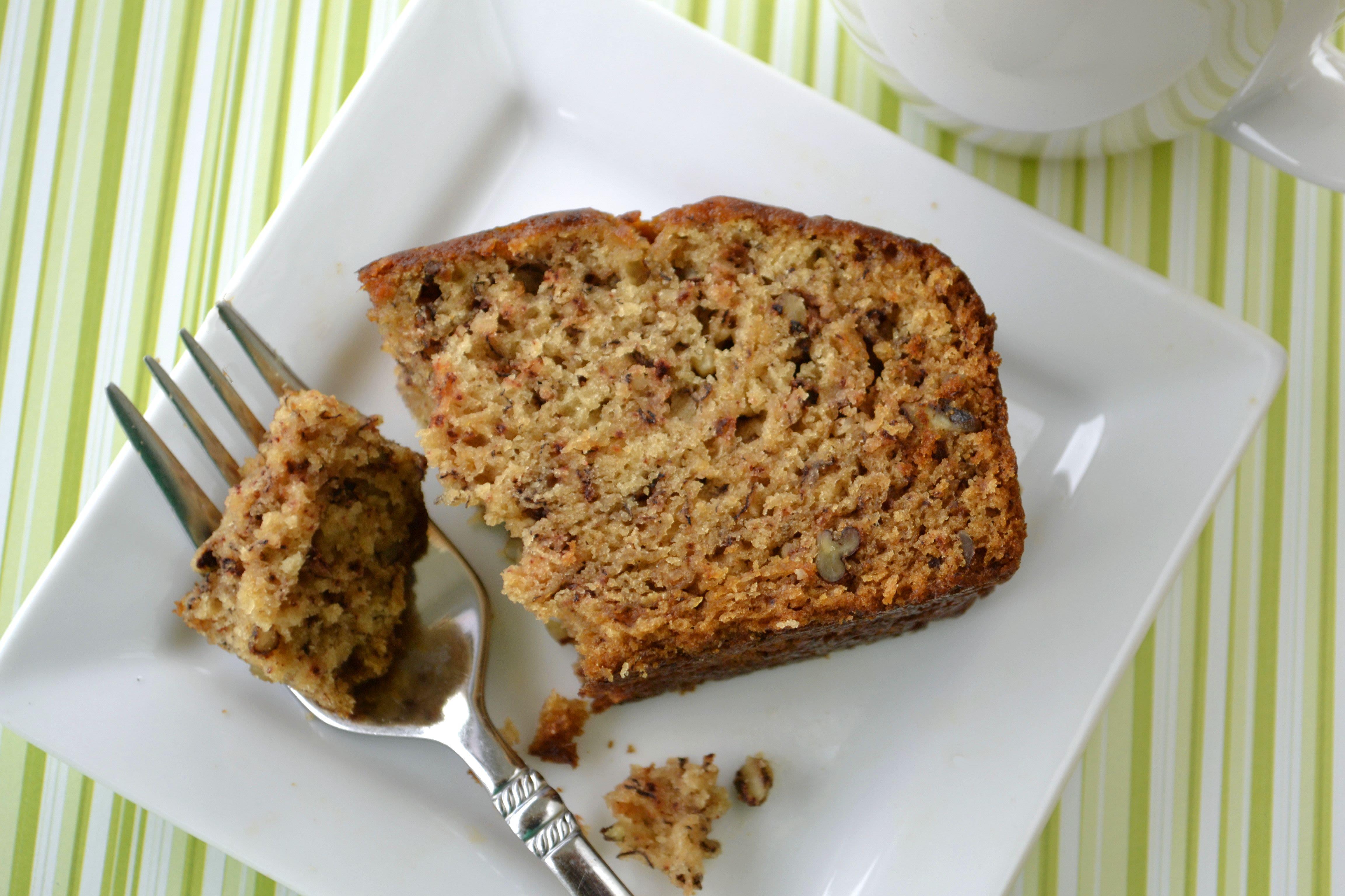 Very Moist Banana Nut Bread Recipe Genius Kitchen