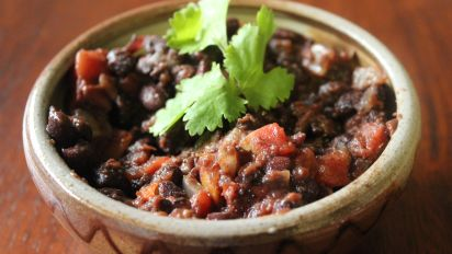 Bacon Black Beans Recipe Food Com
